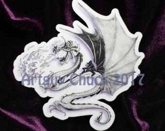 Dragon Rider - Sticker