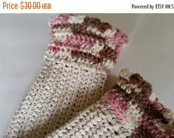 ON SALE Outlander Fingerless Gloves - Mrs. Fitz Mitts, Wrist Warmers, Crochet Gloves, Handmade, Gifts for Her