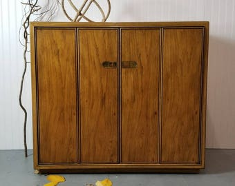 Hollywood Regency Buffet/ Server / Bar Cabinet. (Made by Drexel)