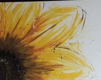 "Sunflower Painting 24x36"""