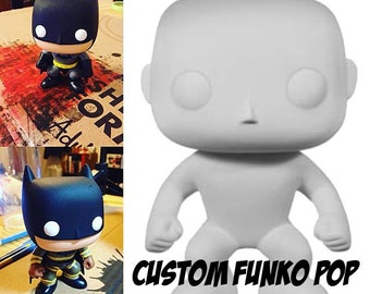 Customized Funko Pop figure - request a character custom painted vinyl collectible