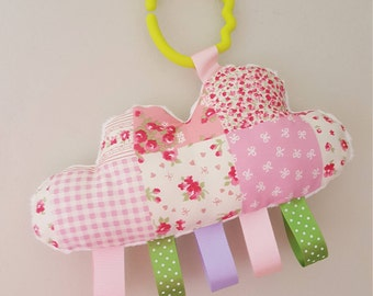 Cloud plushie pram charm or nursery decor