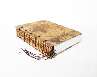 Old world Map Collection - Travel Journal, Notebook, Sketchbook