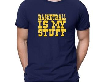 Basketball Is My Stuff T-Shirt