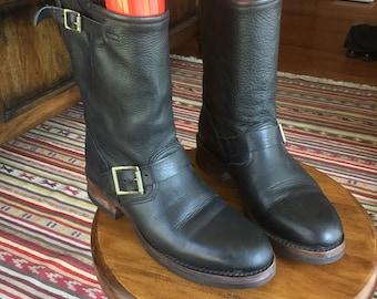 Vintage black engineer boot size 6.5