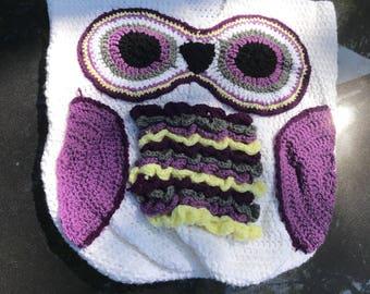 Baby Owl Cocoon Blanket