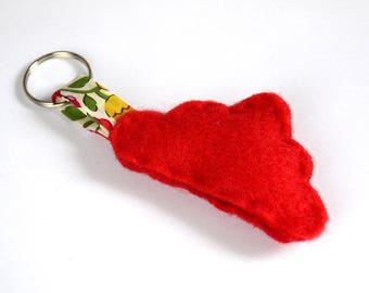 For one red cloud Keychain sewing kit