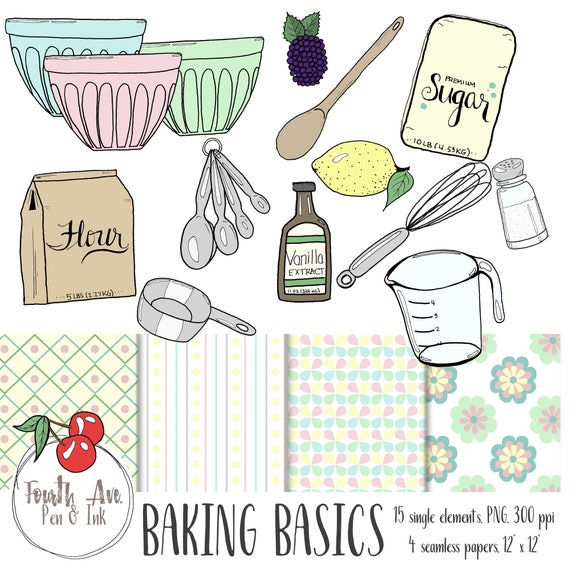 Baking Ingredients Clipart Baking Clipart ...