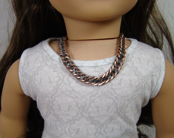 """Chunky Chain Neckace for 18"""" Play Dolls such as American Girl®"""