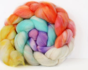 Miami 4 oz Merino softest 19.5 micron Roving Top for spinning