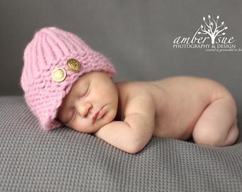 Knifty Knitter Loom Hat Pattern, Newsboy Hat Pattern, Baby Visor Hat Pattern, Knifty Knitter Pattern, Baby Hat Pattern, Loom Hat Pattern