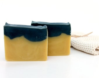 Bumble Bee Cold Processed Soap,  made with organic oils and beeswax, organic shea butter