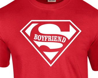 Super Boyfriend T-Shirt Birthday gift  Boyfriend Girlfrind