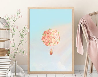 On the Way to the Dream Art Print - Poster - Gift - Decor/Room Wall Art