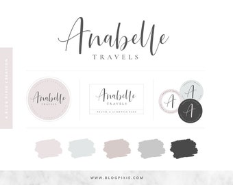 Logo Design - Blog Logo - Blog Header - Brand Kit - Branding Package - Watermark - Business Logo - Photography Logos