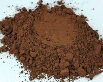 Cinnamon  Brown  Matte  Natural organic Makeup Eyeshadow  loose  Eye Shadow   Mineral Makeup Vegan Natural