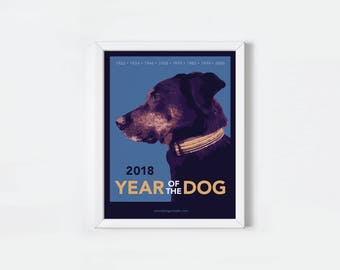 Year of the Dog Print