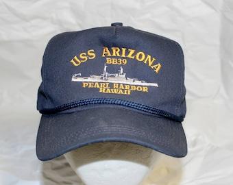 USS Arizona BB 39 Pearl Harbor Hawaii Hat