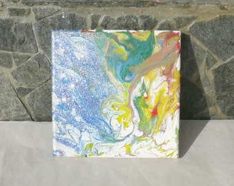 Air Dance - a  picture painted with acrylic paints