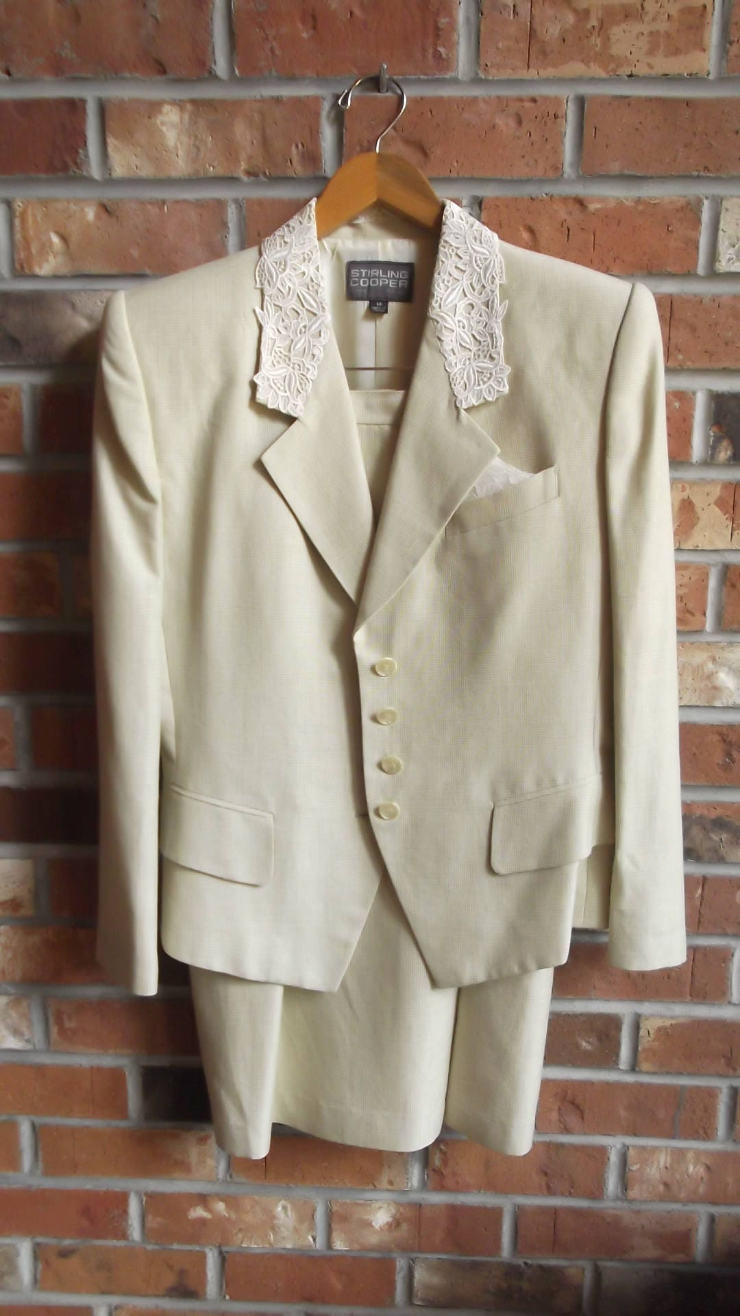 Vintage tailored suit from the 80\'s