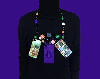 iPhone shells necklace