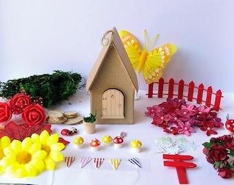 Sale   Fairy House Craft Kits   Fairy House Accessories   Fairy House Kits