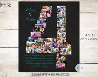 4th anniversary gift ideas for boyfriend