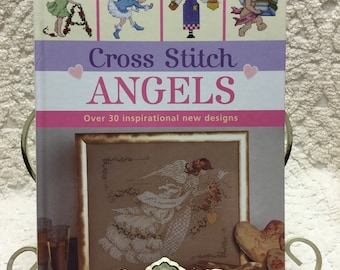 ANGELS Cross Stitch Book - SO PRETTY!
