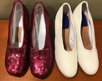 Replica Art Deco Innes Shoe Company Shoes in Ruby Slipper Style  - for display only