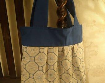 Rebecca Pleated Tote Bag