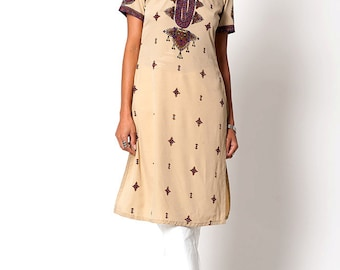 The Vintage Indian Style Tunic Dress