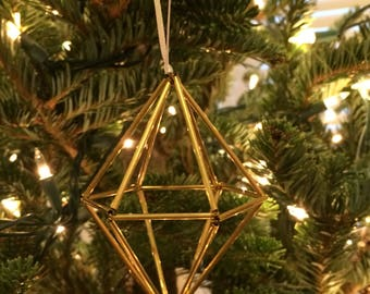 Brass Himmeli - The Lougee Ornament