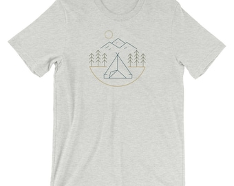 Camping in the Mountains T-Shirt