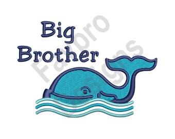 Big Brother - Machine Embroidery Design