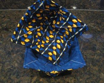 14 Yellow Poppies Fabric Bowl Cozy