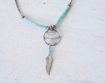 Sterling Native Americcan Indian Necklace