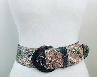 Retro chunky belt