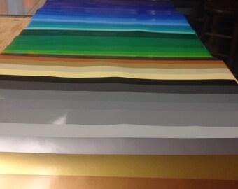 Oracal 651 Vinyl, Oracle 651 Vinyl, Permanent Vinyl Sheets, Outdoor Vinyl, Decal Vinyl, Silhouette Vinyl, All 63 Oracal 651 All Color Bundle
