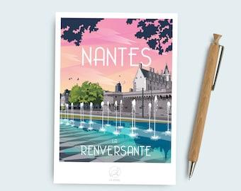 Postcard Nantes