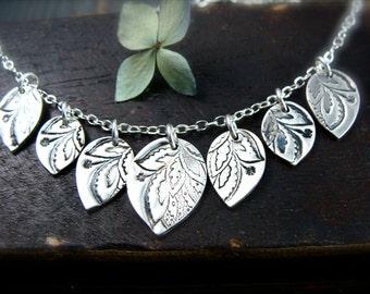 gypsy petal necklace