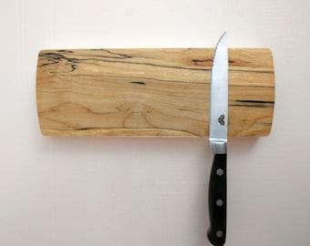 Magnetic Knife Rack, Wall Mounted Knife Holder, Magnetic Knife Holder, Wooden Knife Organizer, Kitchen Accessory, Handmade  short #7
