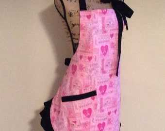 Woman's Breast Cancer Apron