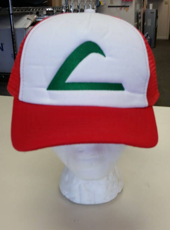 Cosplay anime Hat, Anime inspired embroidered hat