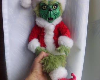 Grin Monster Santa costume
