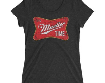 It's Robert Mueller Time Anti Trump 2018 Resist Ladies' short sleeve t-shirt