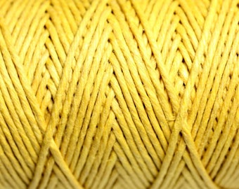 5 Metters - 1.2 mm yellow hemp twine cord - 4558550083845