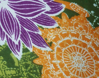 """Decorative Fabric, Multicolor Fabric, Floral Print, Dress Fabric, Quilt Fabric, 42"""" Inch Cotton Fabric By The Yard ZBC7883A"""