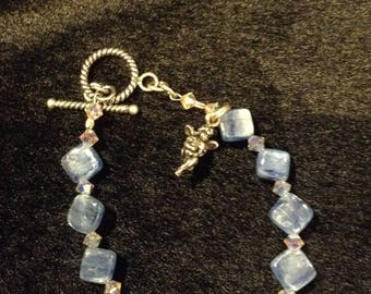 Blue Kyanite Fairy Bracelet