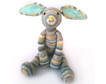 Bonnie the Bunny Crochet Pattern PDF