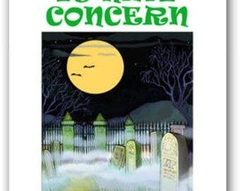 Tomb It May Concern Funny Halloween Card - 18 Pack - 16091